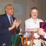 Astronaut Faris visit to future university, Sudan