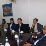 The Korean delegation from chungnum university visited Future University - Sudan